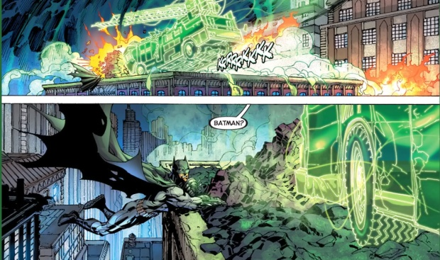 batman and green lantern's first meeting (new 52)