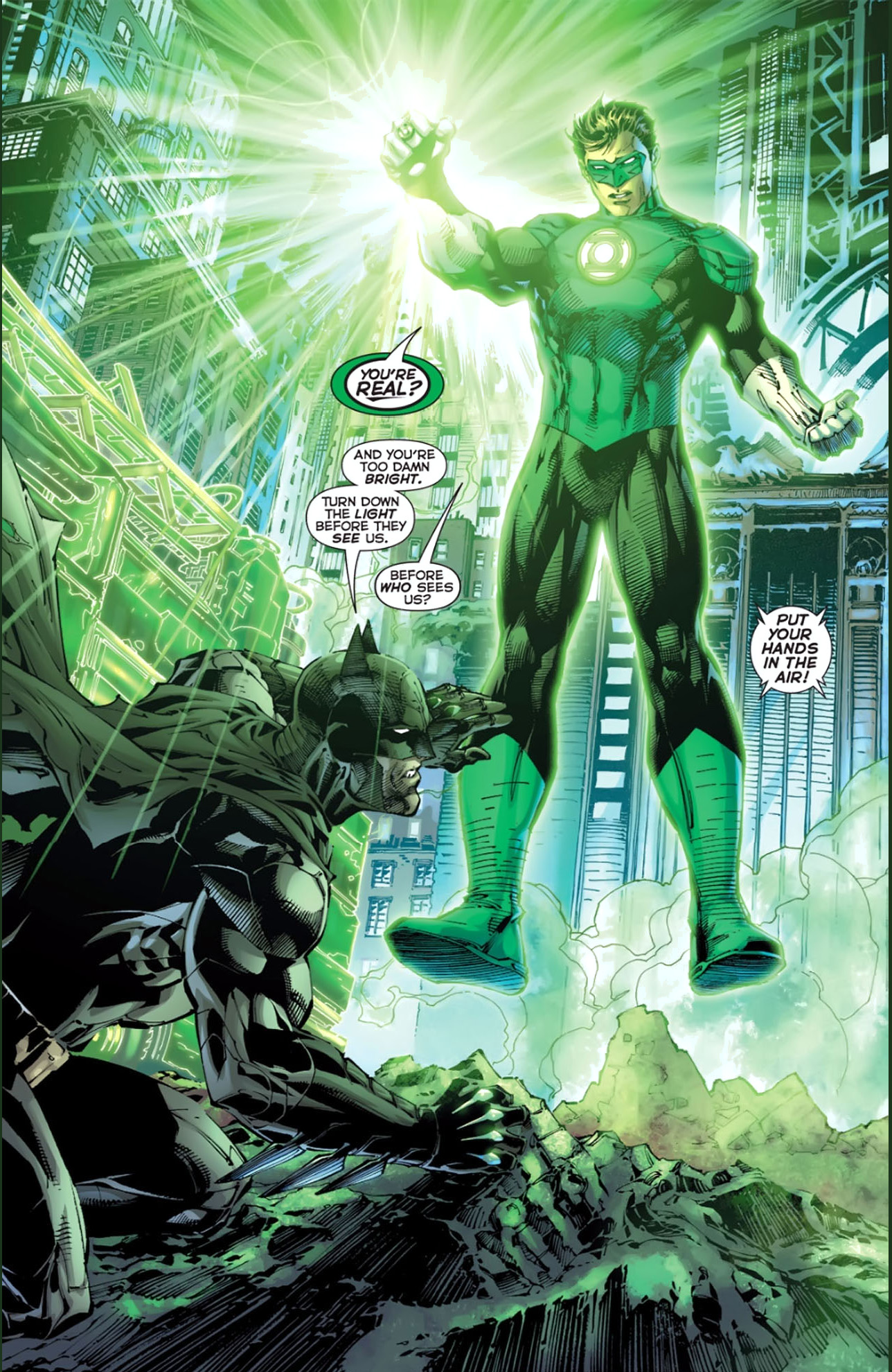 The Green Woman The Empress From The Wildwood Tarot: Green Lantern And Batman's First Meeting (New 52