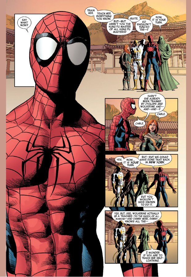 spider-man trains hope summers 1