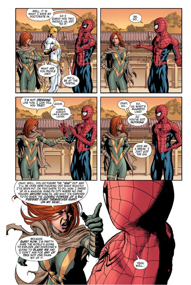 spider-man trains hope summers 2