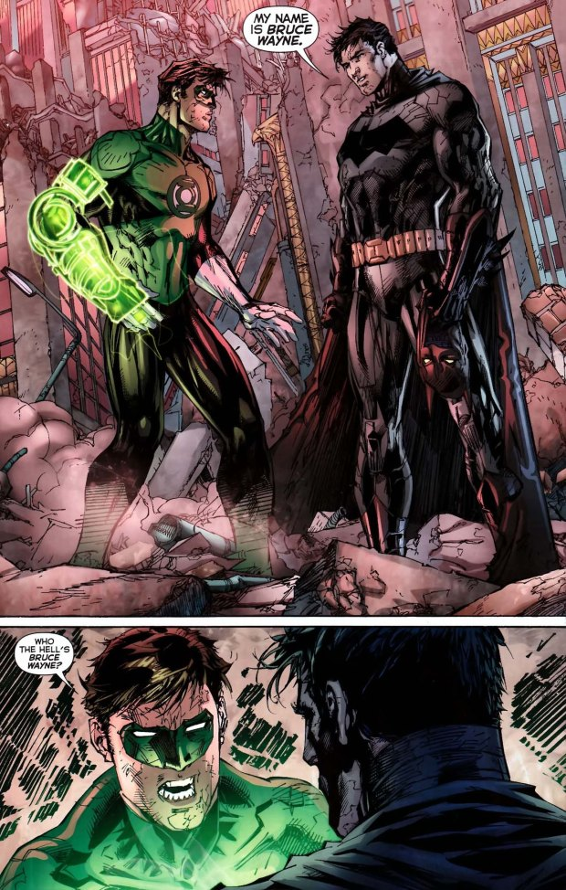 green lantern doesnt know who bruce wayne is 3