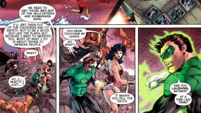 green lantern touched the lasso of truth
