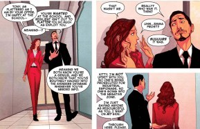 Kitty Pryde Hacks Into Avengers Database