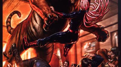 Tawky Tawny Attacks Sabina De La Croix (Trials Of Shazam)