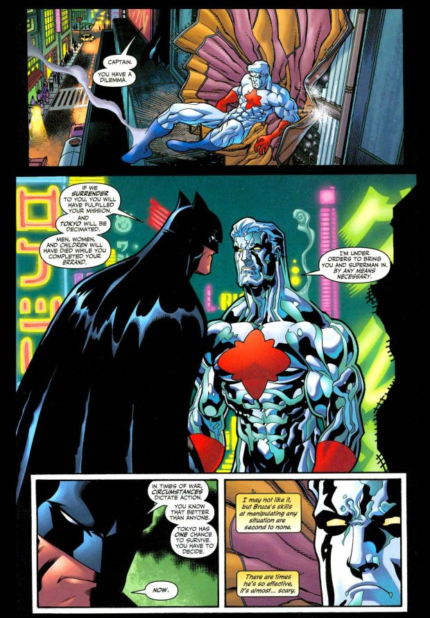 batman manipulates captain atom