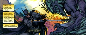 batman with a battleaxe