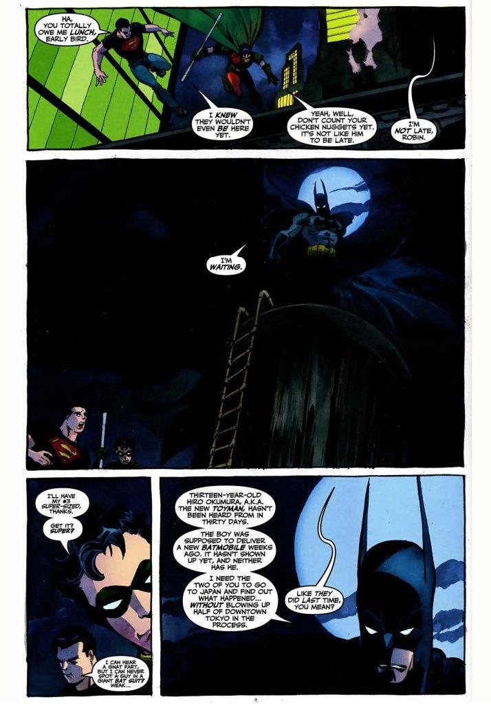 batman's never late