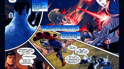 batman's observation of superman