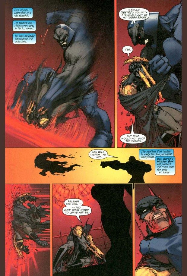 how batman earned darkseid's admiration 3