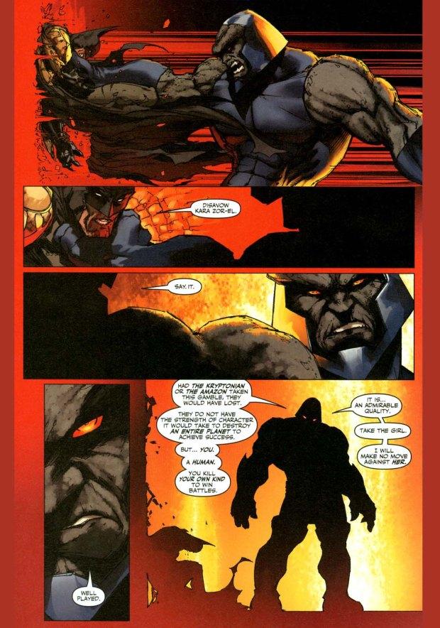 how batman earned darkseid's admiration 4