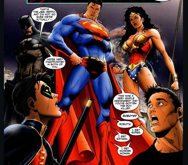 Robin And Superboy Wants Wonder Woman