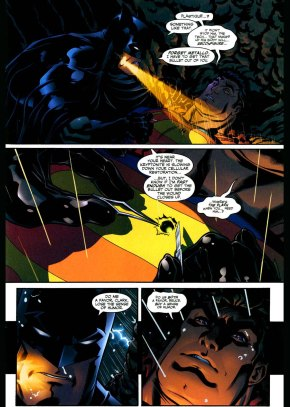 superman tells batman to buy what