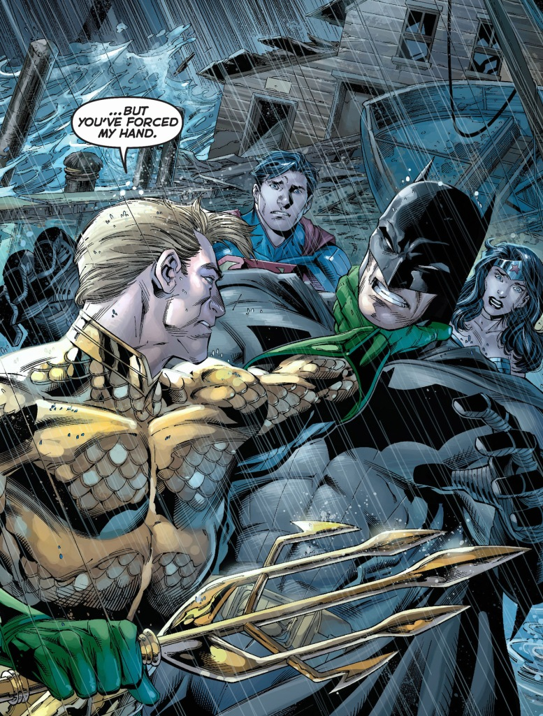 Aquaman vs batman
