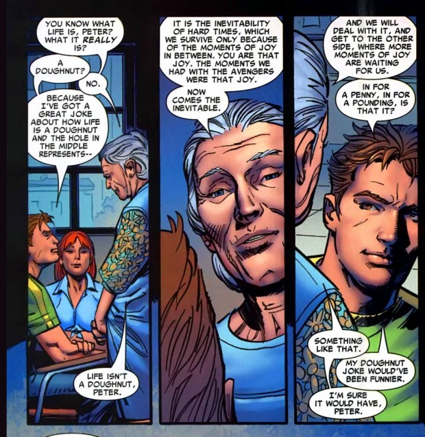 aunt may on life