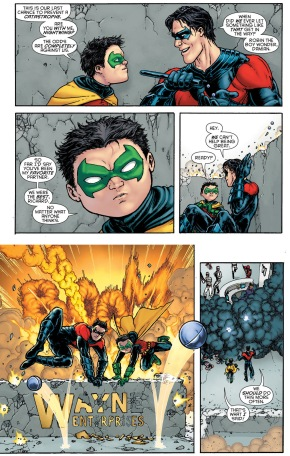 Nightwing Is Damian Wayne's Favorite Partner