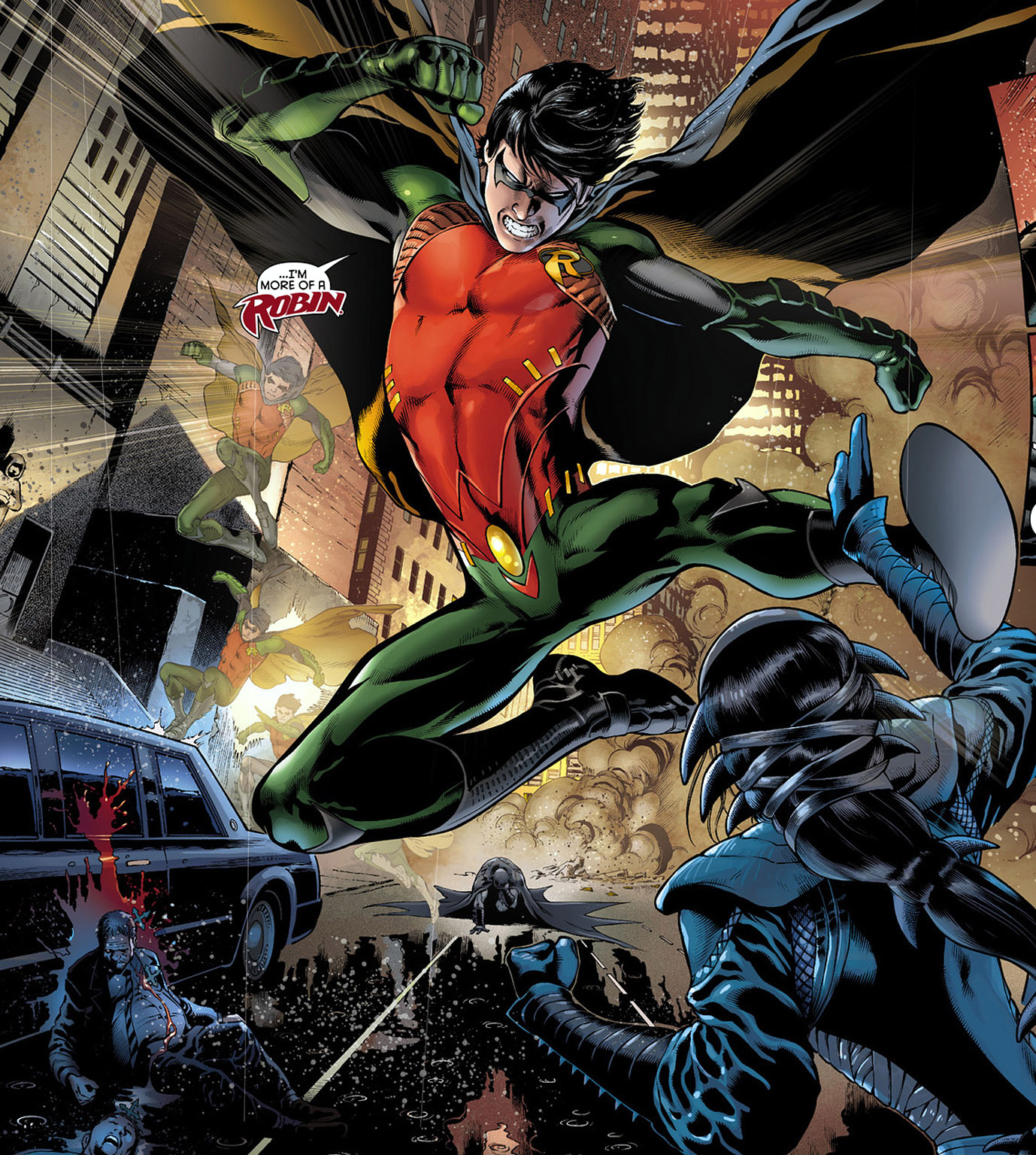 Dick Grayson S New 52 Robin Costume Comicnewbies