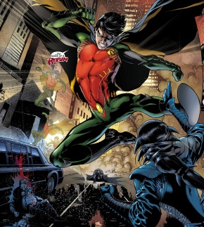 Dick Grayson as Robin new 52