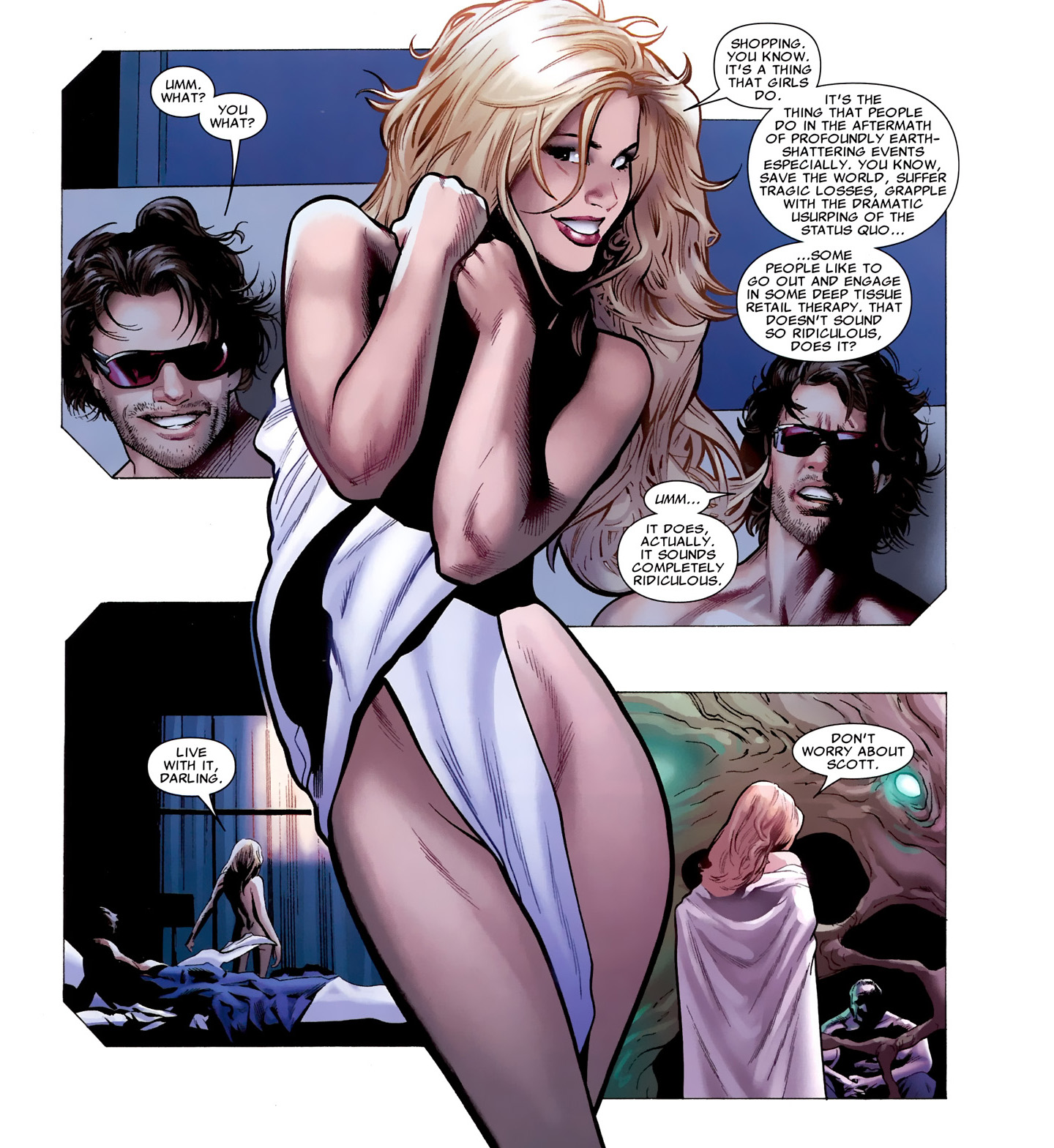 comics girls emma frost - photo #28