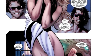 Emma Frost in Sheets