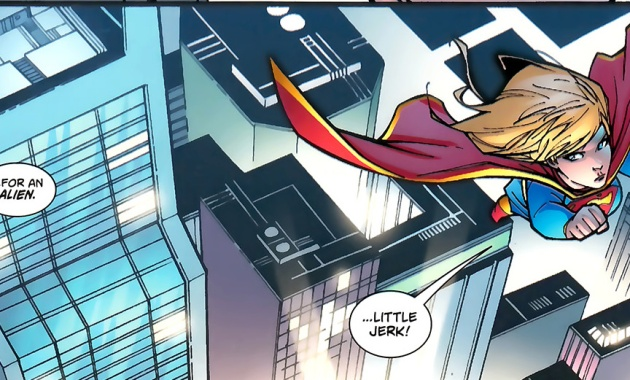 Robin Is Teased About Supergirl
