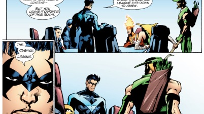 Nightwing's Rule On The Justice League