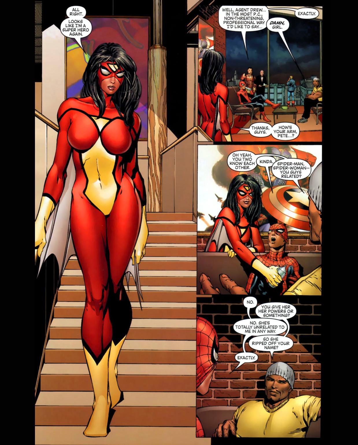 spider-woman jpgUltimate Spiderman And Spiderwoman