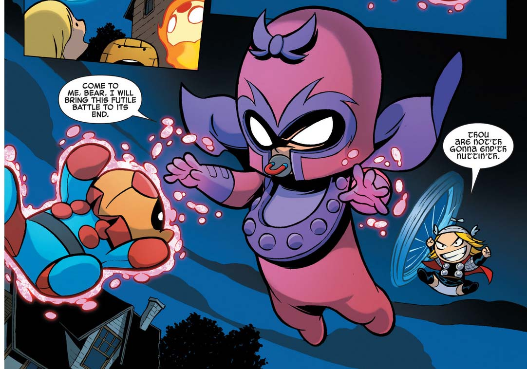 Baby Magneto | Comicnewbies X Babies Nightcrawler