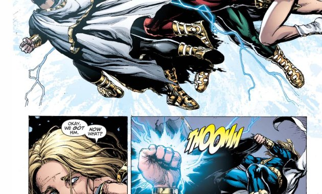 marvel family vs black adam