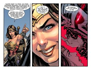 wonder woman mocks ares