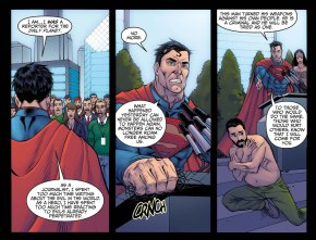 superman reveals his real identity