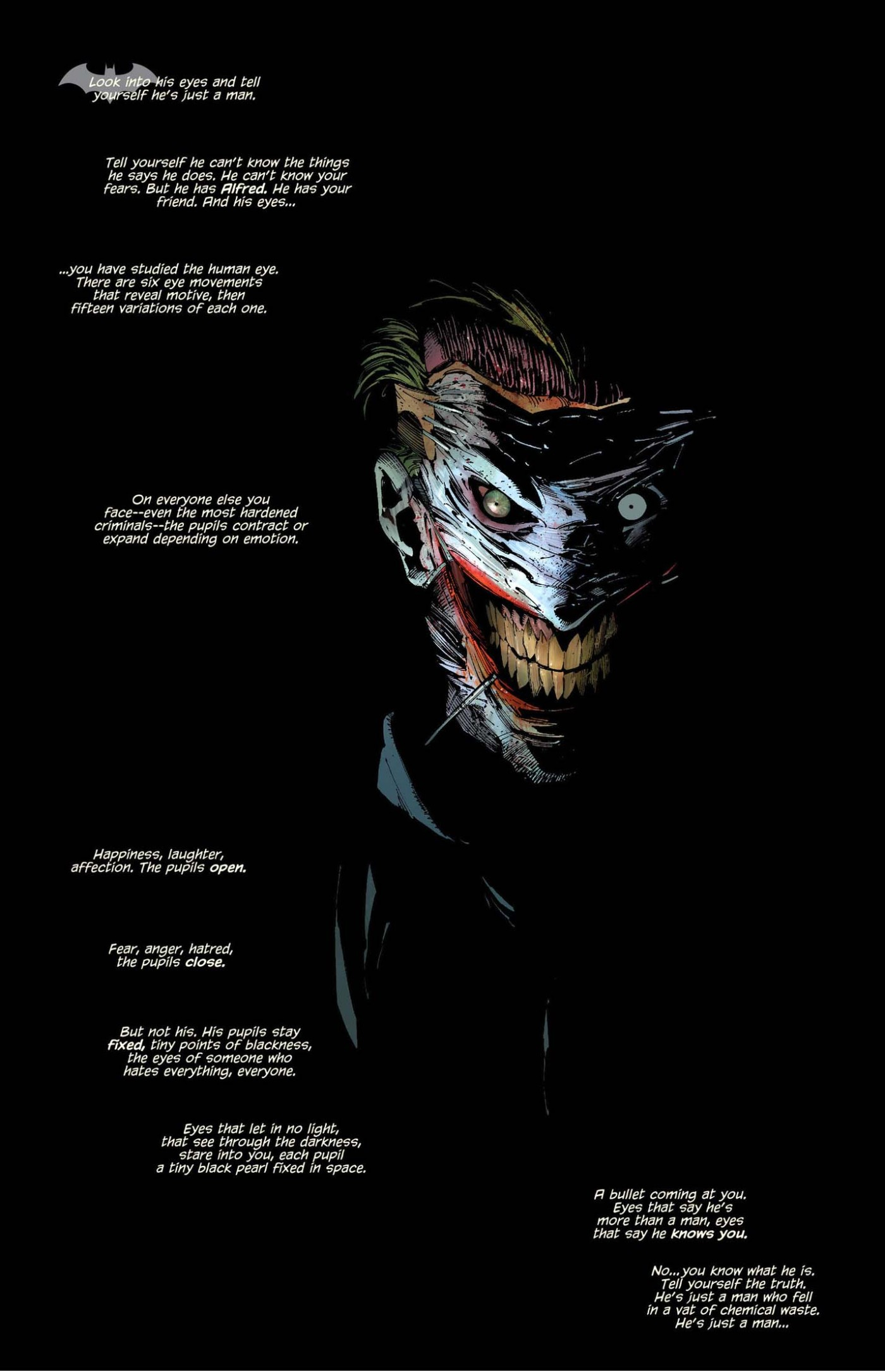 Jokers Eye Movements Comicnewbies