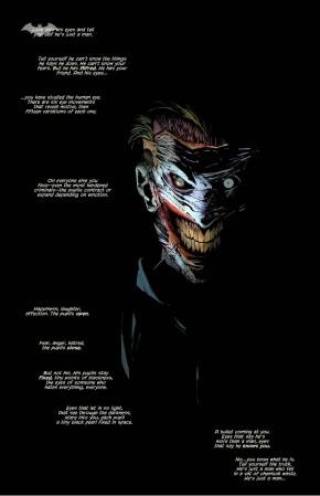 joker's eye movements