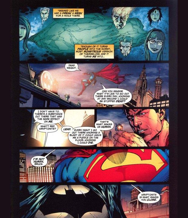 kryptonite makes you human
