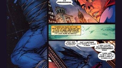 kryptonite makes superman human