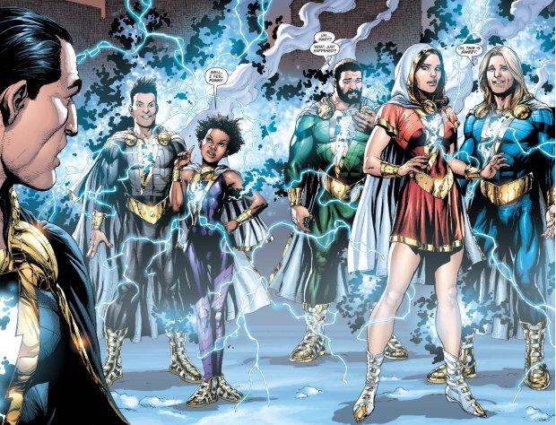 New Marvel Family