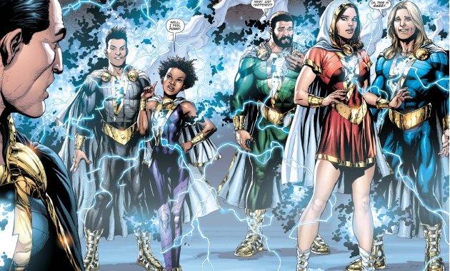 New Marvel Family new 52