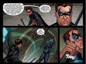 Nightwing vs Robin