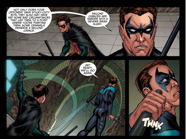 Nightwing vs Robin 2