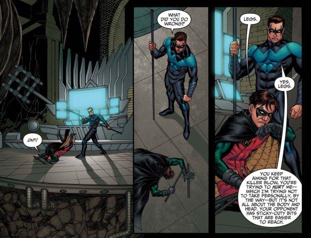 Nightwing vs Robin