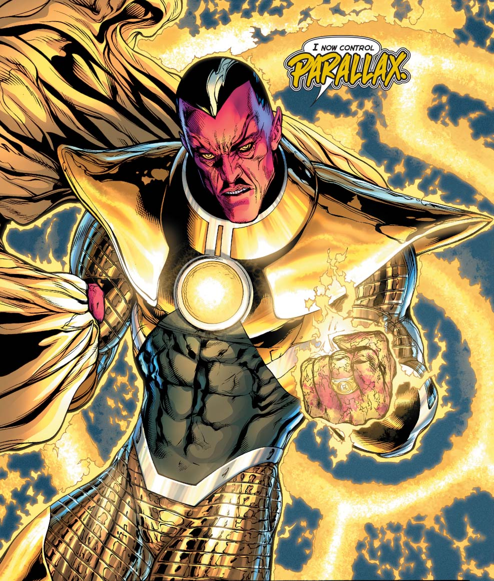 sinestro possessed by parallax comicnewbies