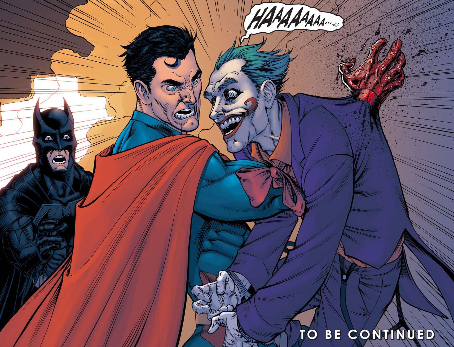 Image result for superman kills joker