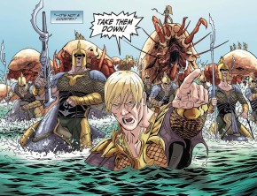 Aquaman Attacks