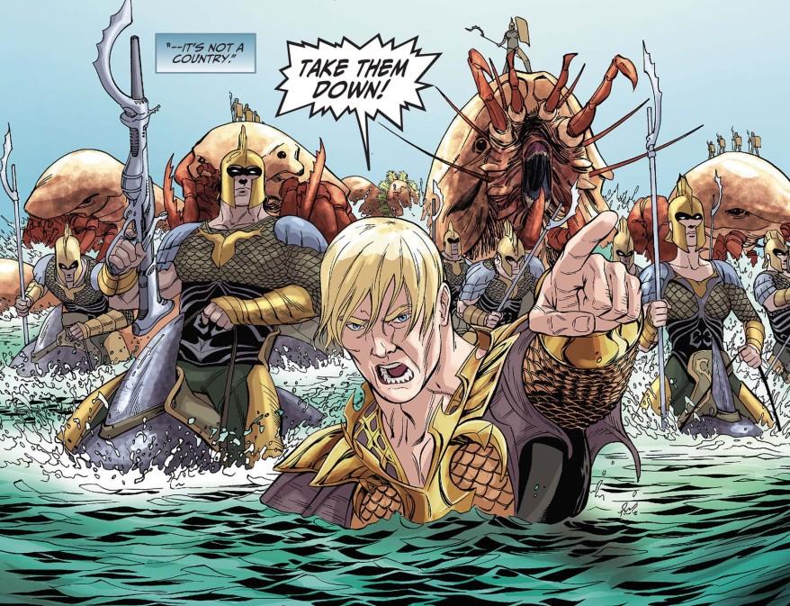 Aquaman Attacks