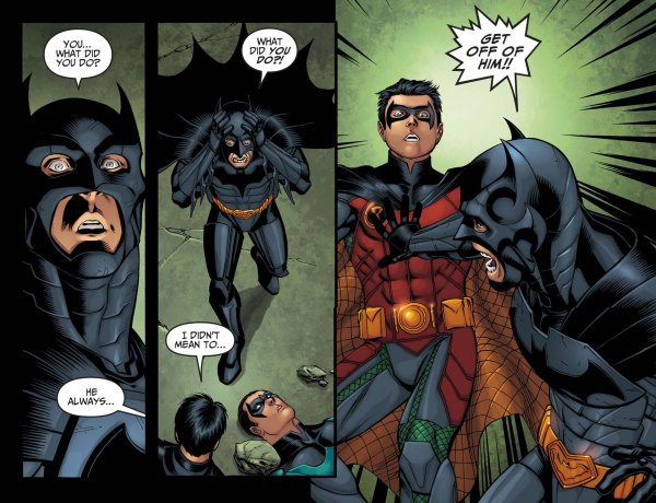 Batman s Reaction To Nightwing s