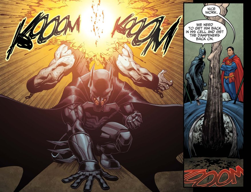 Batman VS Solomon Grundy 2
