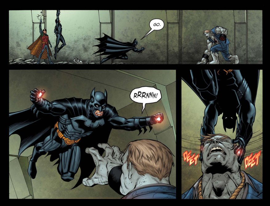 Batman VS Solomon Grundy