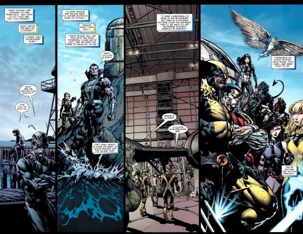cyclops deploys the xmen
