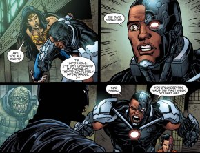batman hacks cyborg