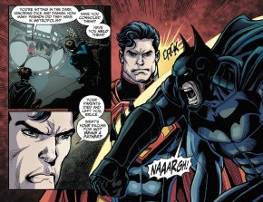 superman calls batman a lousy father