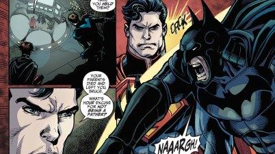 superman calls batman a lousy father